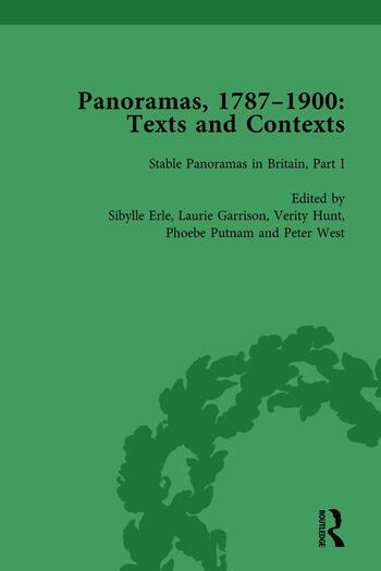 Panoramas, 1787–1900 Vol 1 Texts and Contexts book cover