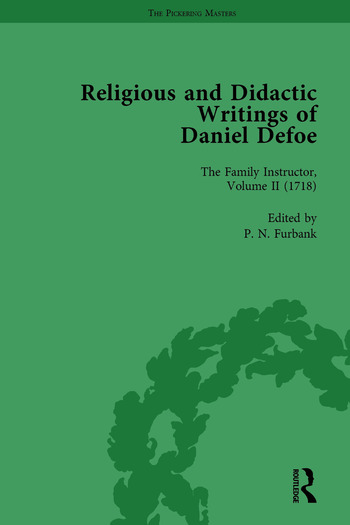 Religious and Didactic Writings of Daniel Defoe, Part I Vol 2 book cover