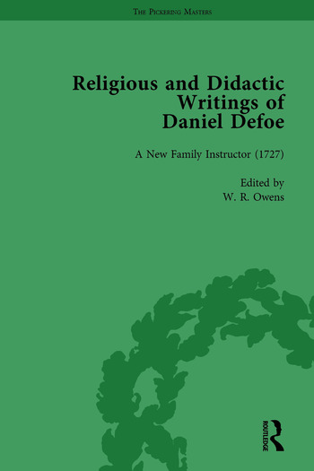 Religious and Didactic Writings of Daniel Defoe, Part I Vol 3 book cover