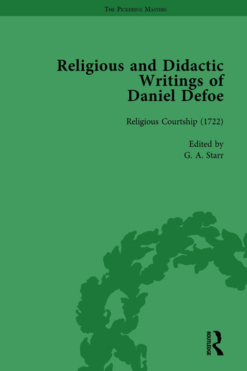 Religious and Didactic Writings of Daniel Defoe, Part I Vol 4 book cover