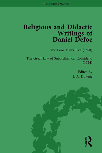 Religious and Didactic Writings of Daniel Defoe, Part II vol 6 book cover
