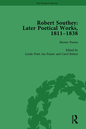 Robert Southey: Later Poetical Works, 1811–1838 Vol 1 book cover