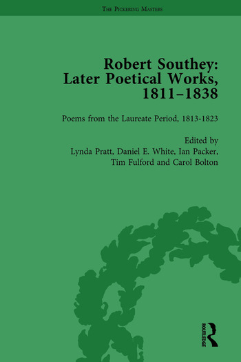 Robert Southey: Later Poetical Works, 1811–1838 Vol 3 book cover