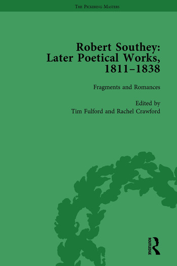 Robert Southey: Later Poetical Works, 1811–1838 Vol 4 book cover