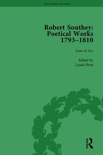 Robert Southey: Poetical Works 1793–1810 Vol 1 book cover