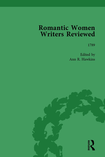 Romantic Women Writers Reviewed, Part I Vol 1 book cover