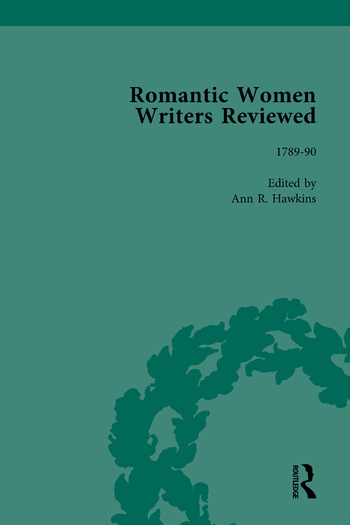 Romantic Women Writers Reviewed, Part II vol 4 book cover