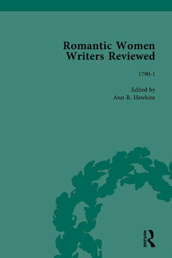 Romantic Women Writers Reviewed, Part II vol 5 book cover
