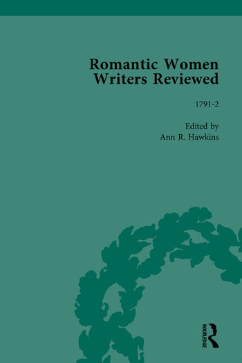 Romantic Women Writers Reviewed, Part III vol 9 book cover