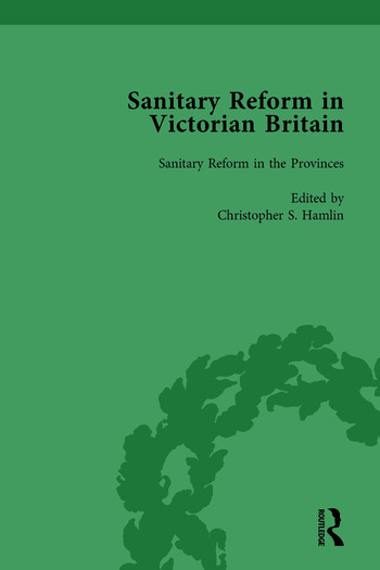 Sanitary Reform in Victorian Britain, Part I Vol 2 book cover