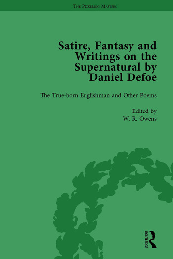 Satire, Fantasy and Writings on the Supernatural by Daniel Defoe, Part I Vol 1 book cover