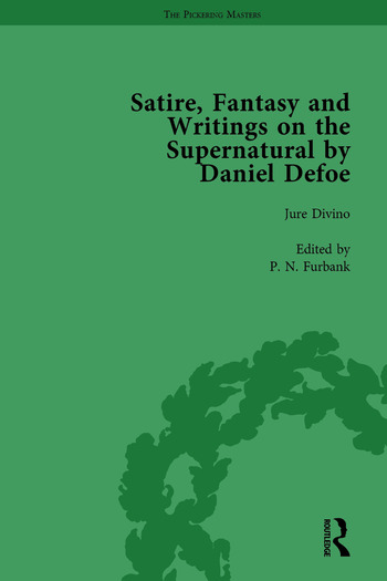 Satire, Fantasy and Writings on the Supernatural by Daniel Defoe, Part I Vol 2 book cover