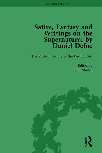 Satire, Fantasy and Writings on the Supernatural by Daniel Defoe, Part II vol 6 book cover