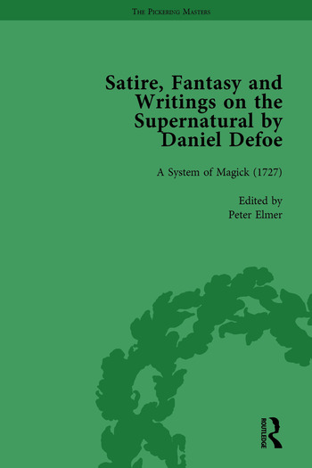 Satire, Fantasy and Writings on the Supernatural by Daniel Defoe, Part II vol 7 book cover