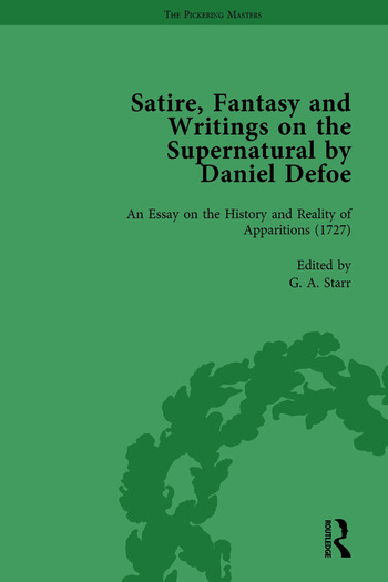 Satire, Fantasy and Writings on the Supernatural by Daniel Defoe, Part II vol 8 book cover