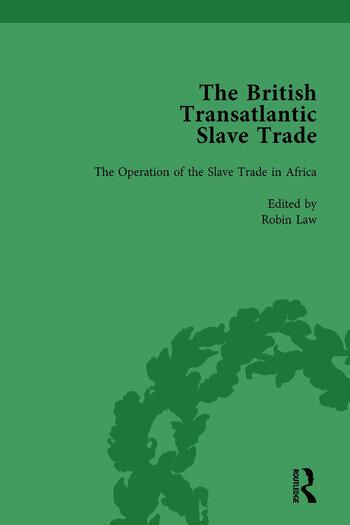 The British Transatlantic Slave Trade Vol 1 book cover