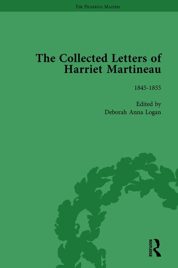 The Collected Letters of Harriet Martineau Vol 3 book cover