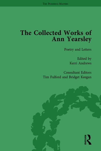 The Collected Works of Ann Yearsley Vol 1 book cover