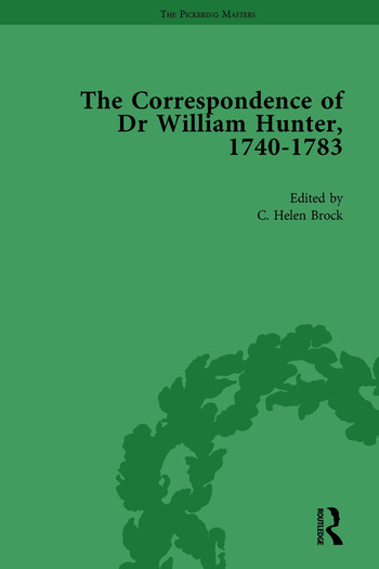 The Correspondence of Dr William Hunter Vol 1 book cover