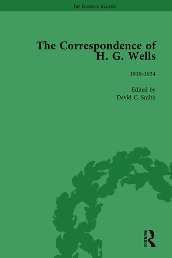 The Correspondence of H G Wells Vol 3 book cover
