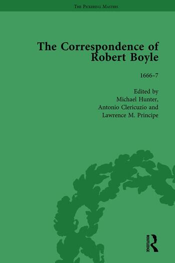 The Correspondence of Robert Boyle, 1636-1691 Vol 3 book cover