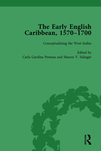 The Early English Caribbean, 1570–1700 Vol 1 book cover