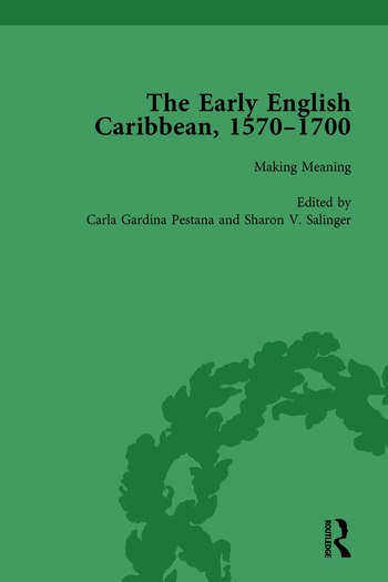 The Early English Caribbean, 1570–1700 Vol 4 book cover