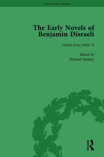 The Early Novels of Benjamin Disraeli Vol 1 book cover