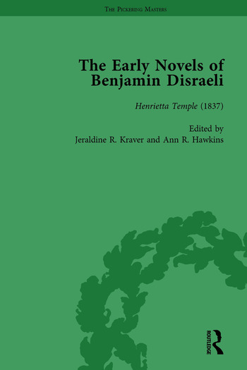 The Early Novels of Benjamin Disraeli Vol 5 book cover