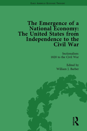 The Emergence of a National Economy Vol 6 The United States from Independence to the Civil War book cover