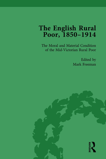 The English Rural Poor, 1850-1914 Vol 1 book cover