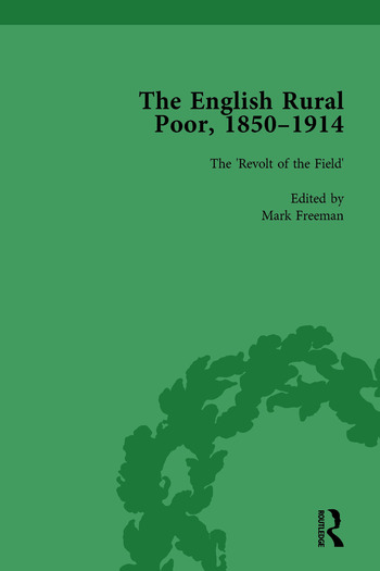 The English Rural Poor, 1850-1914 Vol 2 book cover