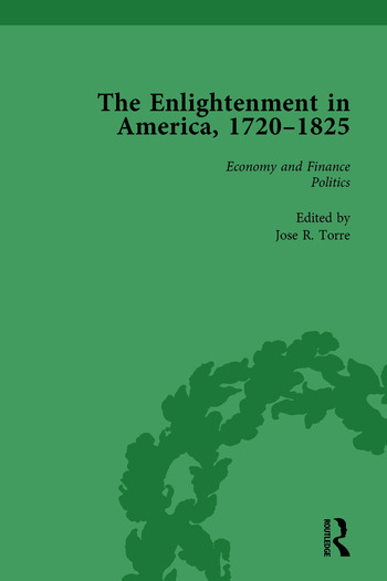 The Enlightenment in America, 1720-1825 Vol 1 book cover