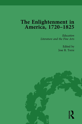 The Enlightenment in America, 1720-1825 Vol 2 book cover