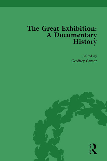 The Great Exhibition Vol 1 A Documentary History book cover