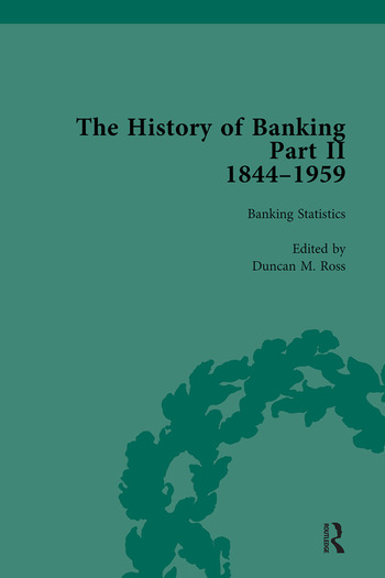 The History of Banking II, 1844-1959 Vol 4 book cover
