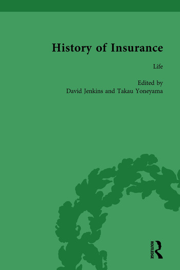 The History of Insurance Vol 6 book cover