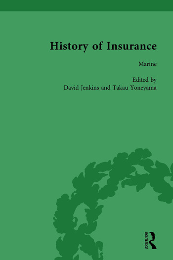 The History of Insurance Vol 8 book cover