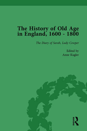 The History of Old Age in England, 1600-1800, Part II vol 7 book cover