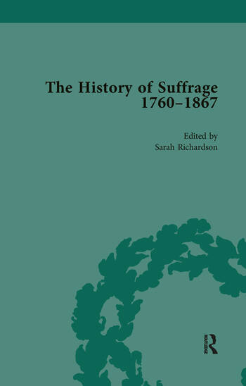 The History of Suffrage, 1760-1867 Vol 3 book cover