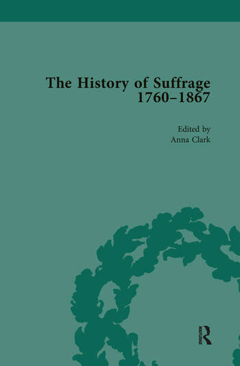 The History of Suffrage, 1760-1867 Vol 5 book cover