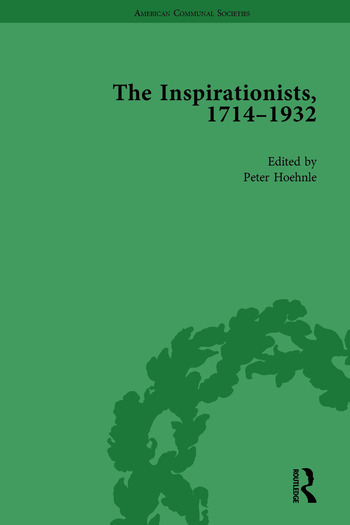 The Inspirationists, 1714-1932 Vol 2 book cover