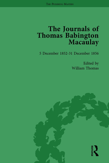 The Journals of Thomas Babington Macaulay Vol 4 book cover