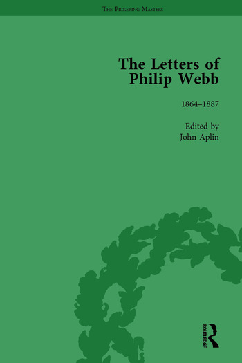 The Letters of Philip Webb, Volume I book cover