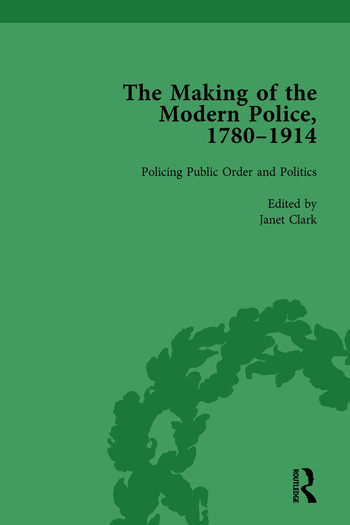 The Making of the Modern Police, 1780–1914, Part II vol 5 book cover