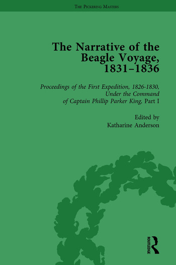 The Narrative of the Beagle Voyage, 1831-1836 Vol 1 book cover