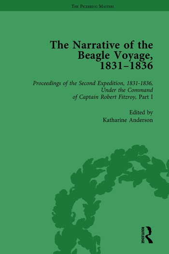 The Narrative of the Beagle Voyage, 1831-1836 Vol 3 book cover