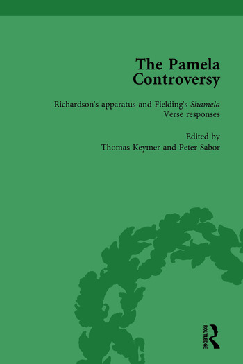 The Pamela Controversy Vol 1 Criticisms and Adaptations of Samuel Richardson's Pamela, 1740-1750 book cover