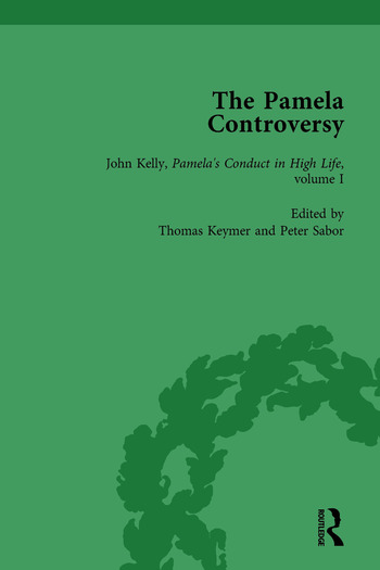 The Pamela Controversy Vol 4 Criticisms and Adaptations of Samuel Richardson's Pamela, 1740-1750 book cover