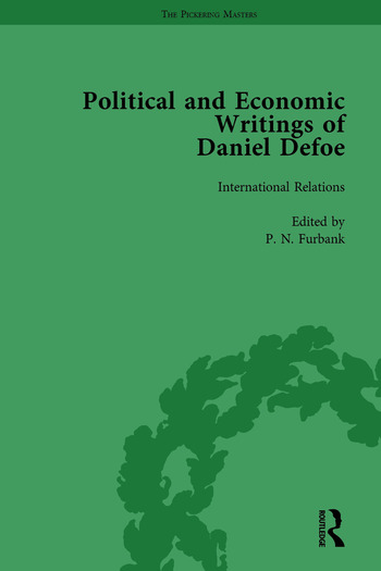 The Political and Economic Writings of Daniel Defoe Vol 5 book cover
